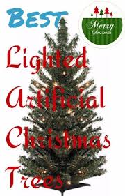 best lighted artificial christmas trees gift source one