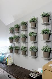 wall shelves wall mounted plant shelves diy gray house studio