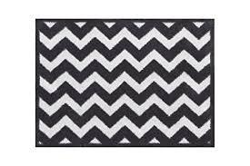 majestic black and white chevron bath rug nobby rugs ideas