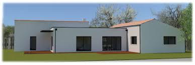 plan maison contemporaine plain pied 4 chambres plan maison en l plain pied 4 chambres evtod