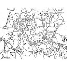 20 free printable disney christmas coloring pages