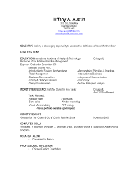 Proper Resume Objective International Business Resume Objective Good Resume Example