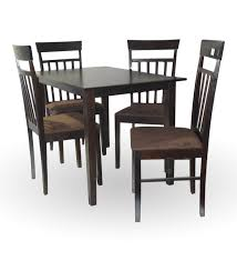 4 Seater Dining Table And Chairs Solid Wood 4 Seater Dining Set Buy Solid Wood 4 Seater Hometown
