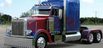 new kenworth trucks transformers optimus prime movie truck driving day various locations