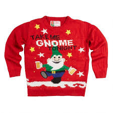 christmas tree sweater with lights take me gnome tonight light up ugly christmas sweater christmas