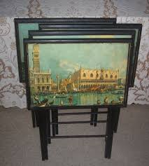Folding Tray Table Set 183 Best Very Vtg Kitchen Trays T V Images On Pinterest Tv