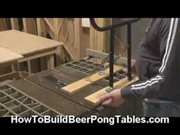build a beer pong table how to make a beer pong table part 1 build a beer pong ta youtube