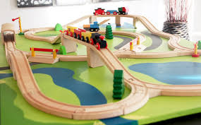 thomas the train wooden track table ethan s christmas wish a diy train board