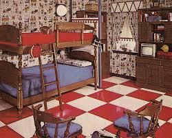 1960s Interior Design Bicentennial Chic