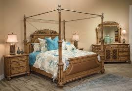 Canopy Bedroom Sets Aico Michael Amini Excursions Canopy Bedroom Set