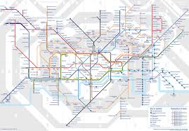 European Rail Map by New Map Shows How More And More Of London U0027s Rail Network Will Be
