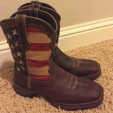 ariat s boots size 9 43 ariat shoes durango s flag boots from