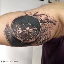 29 best 3d compass tattoo images on pinterest tattoo ideas