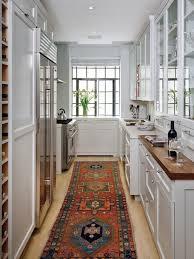 Small Long Kitchen Ideas - kitchen design interesting long kitchen design regarding your
