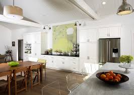 Transitional Pendant Lighting Kitchen - francisco modern buffet cabinet kitchen contemporary with custom