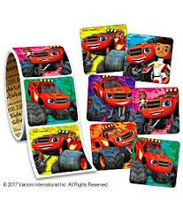 blaze u0026 monster machines stickers roll kids love