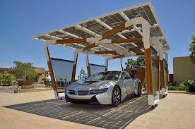 Car Port Designs by Solar Carport For Bmw I8 Tecdesign