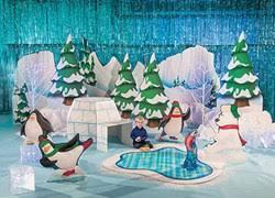 Winter Party Decorations - winter wonderland u0026 snowflake decorations shindigz shindigz