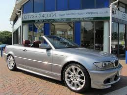 used bmw 3 series uk used bmw 3 series 2006 petrol 320 ci m convertible grey manual for