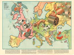 1914 World Map by An Army Of Map Makers 1843