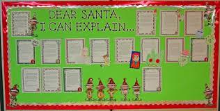 santa claus bulletin board ideas