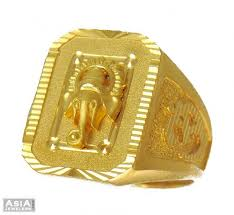 designs gold rings images 22k designer ganesha ring ajri54052 22k gold mens ring jpg