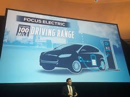 updated 2017 ford focus electric 100 mile range dc fast charging