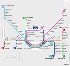 Mbta T Map Oslo Good To Know Just In Case 2013 Trip Oslo Pinterest