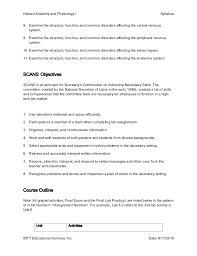 Anatomy And Physiology Midterm Exam Ge258 17 Syllabus
