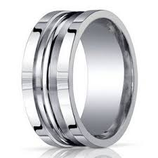 10mm ring men s designer argentium silver ring in satin finish 10mm