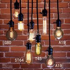 2018 antique light bulbs pendant light nostalgic vintage light