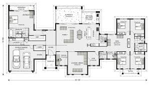 U Shaped Ranch House Plans U Shaped 5 Bedroom Family Home Floor Plans Pinterest