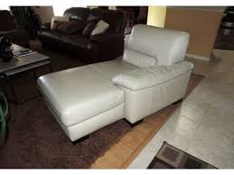Leather Chaise Lounge Italsofa Cream Leather Chaise Lounge Crissy U0027s List Pinterest