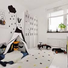 chambre fille et blanc chambre enfant en noir et blanc 25 idées à copier