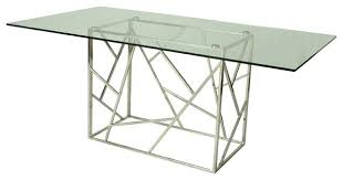 steel top dining table stainless steel top dining table full image for hammered stainless