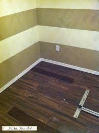 expensive hardwood flooring remodelaholic faux wood plank floors using brown paper