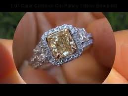 fancy yellow diamond engagement rings jaw dropping egl certified 2 51 carat fancy yellow diamond