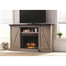 tv stand carter 48 in convertible media electric fireplace in