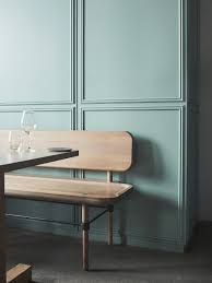 gorgeous moldings and colour this blue grey green is to die