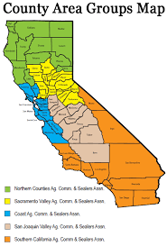 map of california counties cdfa county liaison office county commissioners sealers