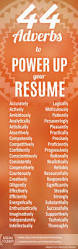 Buzz Words For Resumes Use Effective Powerful 2018 Resume Buzzwords Resume 2018