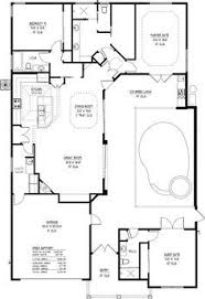 U Shaped House Plans With Pool In Middle Home Plans Designed Around Pools Are All About Entertaining And