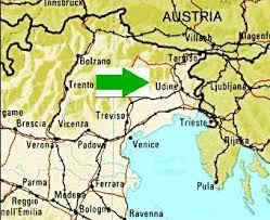 udine italy map where is udine more detail