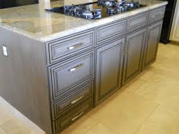 antique grey kitchen cabinets