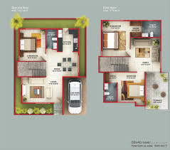 Free Home Plans by Floor Plan Duplex House Bangalore U2013 Gurus Floor