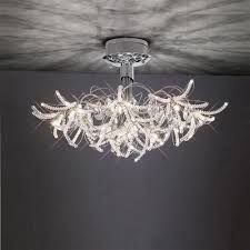 Semi Flush Pendant Lighting Interior Design Modern Ceiling Light Fixtures Metal Pendant