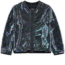 siege social ikks sequined bomber jacket ikks for melijoe com