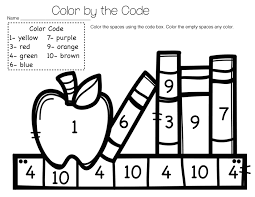 back to color by number teaching under the sun back to