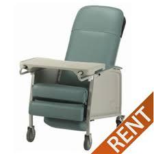 rental chair geri chair three position recliner rental