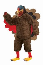 forum novelties s deluxe plush turkey mascot costume